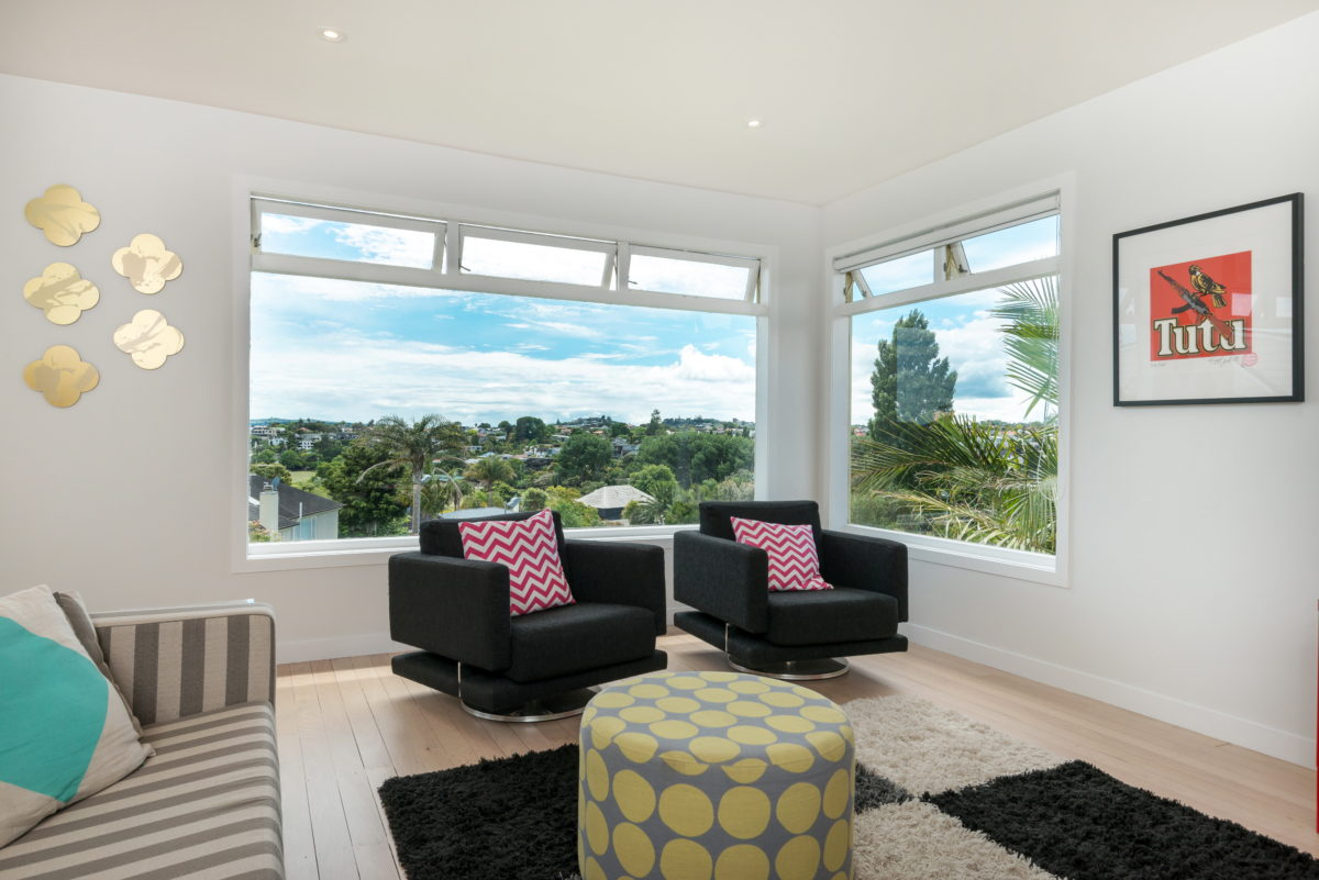 comfortable designer living room